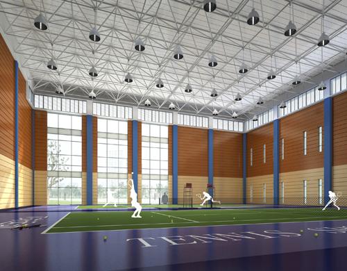苏州工业园区服务外包职业学院8#体育馆方案